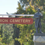 Historical Union Cemetery in Redwood City, CA c.1859