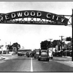 Redwood City arch