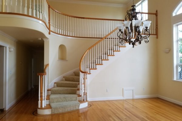 Formal Dining Room and staircase to 2nd floor