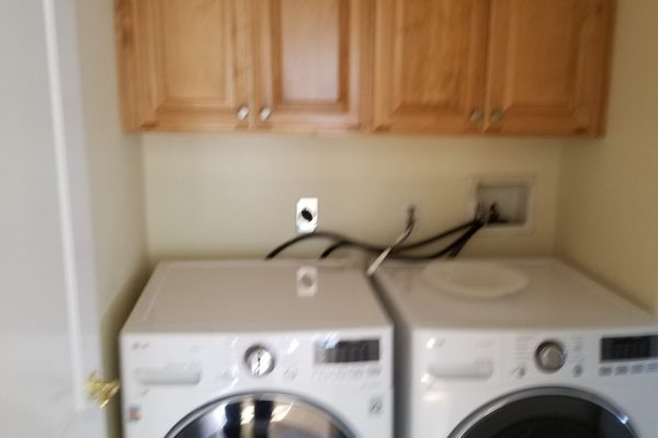 Laundry area with WD