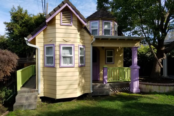 Play house with wrap around porch
